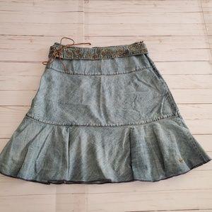 VINTAGE DKNY Jeans Denim Skirt Size 4